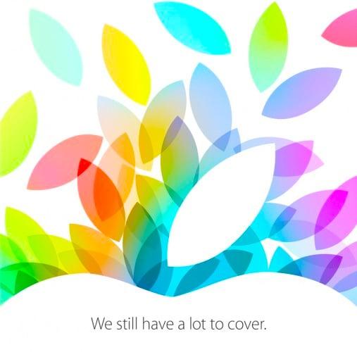 apple event invitation invite ipad october 22 2013