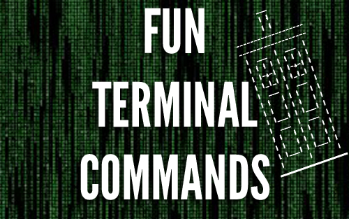 fun terminal commands