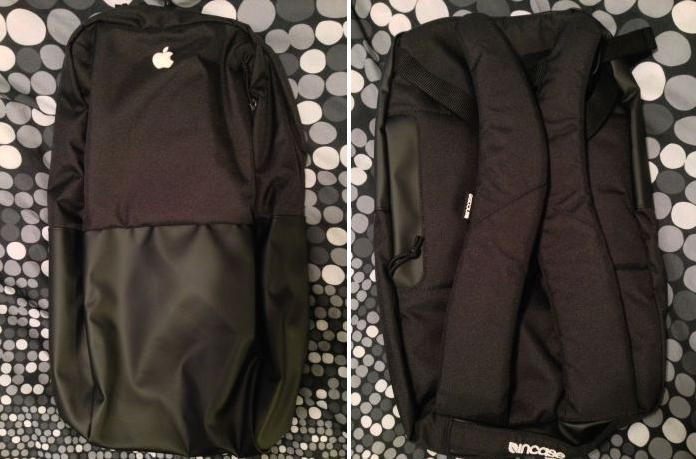apple employees christmas gift backpack