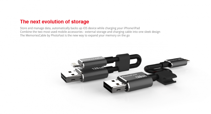iphone charging cable plus additional storage
