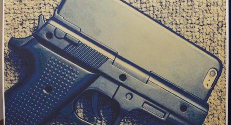 iphone 6 gun case