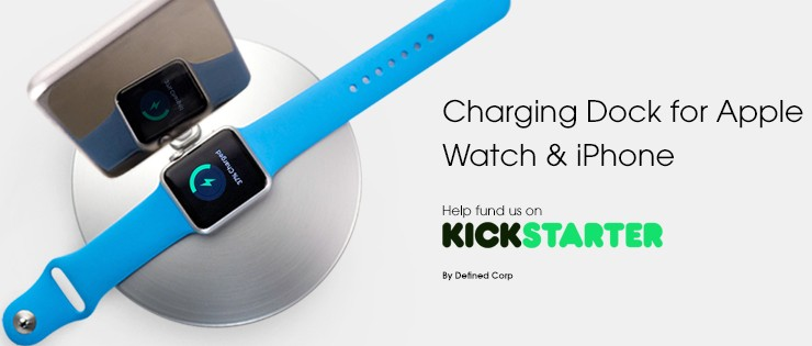 apple watch iphone charging dock