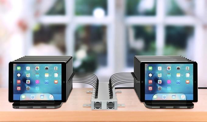 16-port ios device usb charging station