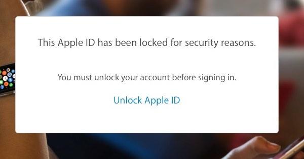 apple id scam