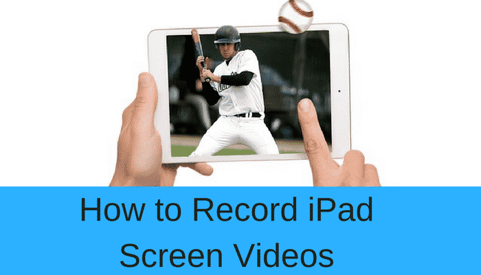 record ipan screen video