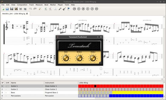 macOS apps for guitarists tuxguitar