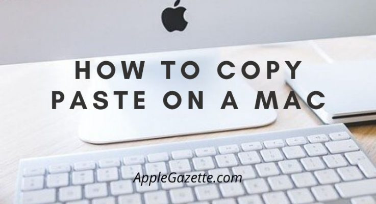 How to Copy and Paste on a Mac