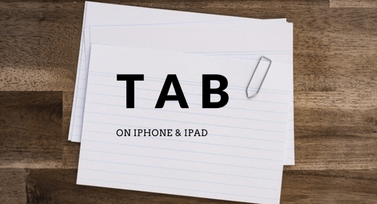 How to Tab on iPhone and iPad