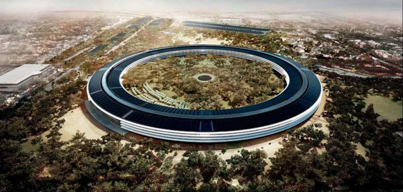 New Detailed Renders & Plans of Apples Wheel-Shaped Campus